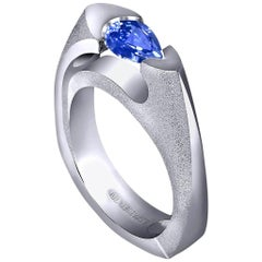 Alex Soldier Tanzanite Gold Engagement Wedding Cocktail Ring One of a Kind