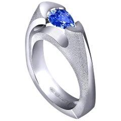 Alex Soldier Tanzanite Gold Engagement Wedding Valentine Cocktail Ring