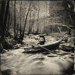 Lost in Time- black and white photograph by Alex Timmermans