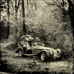 Summer Holiday- black and white collodian wet-plate print by Alex Timmermans
