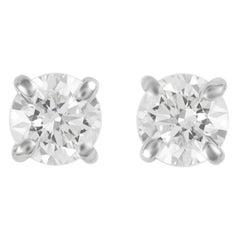 Alexander 0.30 Carat Diamond Stud Earrings White Gold