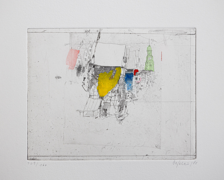 Hauser am Fleet, Alexander Befelein Contemporary Limited Edition Print Etching