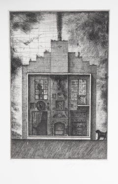 House with Stag's Head from Brodsky and Utkin: Projects 1981 - 1990