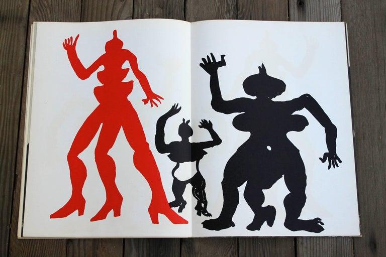 French Alexander Calder 1975 Lithographs