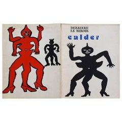 "Alexander Calder 1975 Lithographs ""Derriere Le Miroir"" Maeght Editeur"