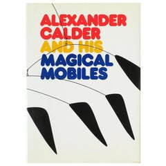 Alexander Calder and His Magical Mobiles Library or Coffee Table Book, 1981