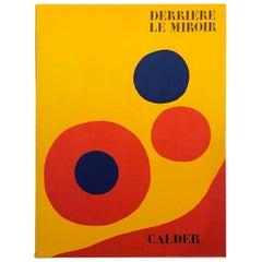 """Alexander Calder """"Derrière le Miroir"""" Portfolio of 4 Lithographs by Maeght, 1973"""