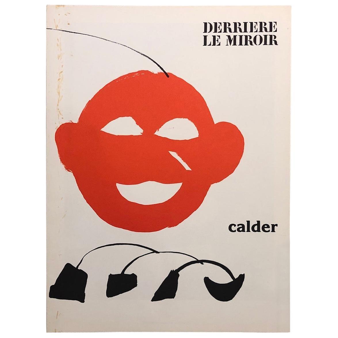Alexander Calder 'Derrière Le Miroir' Portfolio of 5 Lithographs by Maeght 1976