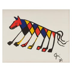 Alexander Calder 'Flying Colors' Lithograph