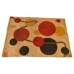 Alexander Calder Jute Wall Tapestry
