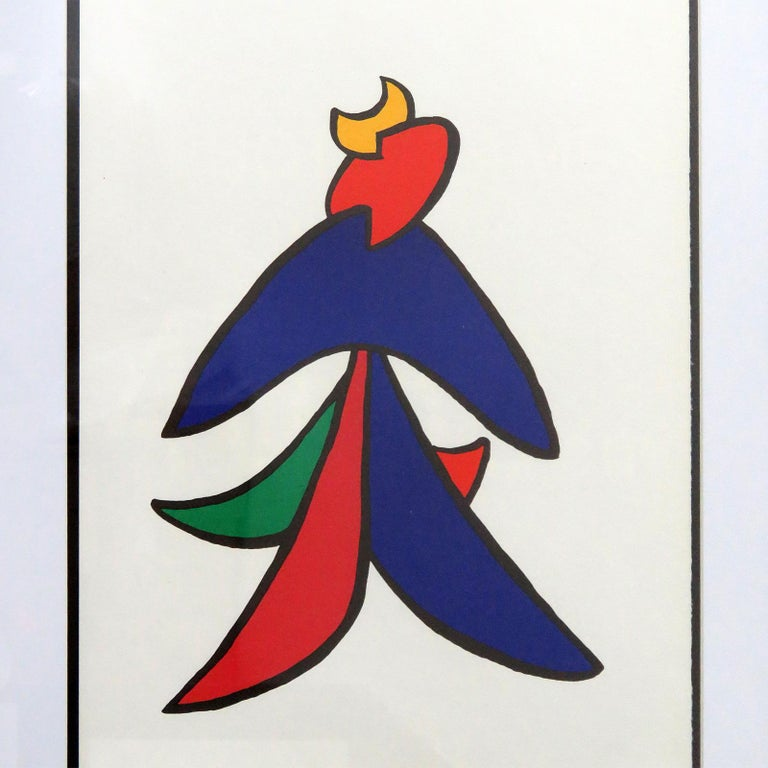 American Alexander Calder Lithography, 1963 For Sale