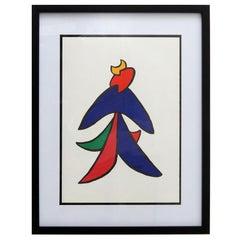 Alexander Calder Lithography, 1963