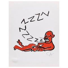Alexander Calder, Lithography, 1979