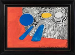 Composition, ALEXANDER CALDER - Gouache, Contemporary, Abstract