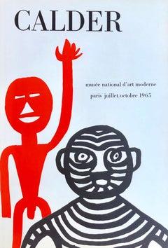 1960s Alexander Calder exhibition poster (Alexander Calder Paris)