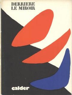 1971 After Alexander Calder 'DLM Cover' Surrealism Lithograph