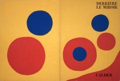 1973 Alexander Calder 'DLM No. 201 Cover' Surrealism Lithograph