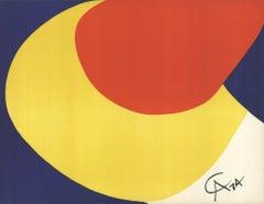 1974 Alexander Calder 'Flying Colors' Contemporary USA Lithograph