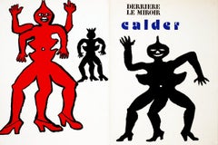 1975 Alexander Calder 'Derriere le Miroir COVER ONLY' Modernism Lithograph
