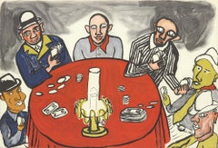1975 Alexander Calder 'DLM no. 212 Pages 20,21' Surrealism Lithograph