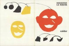 1976 Alexander Calder 'DLM no. 221 Cover' Surrealism Lithograph