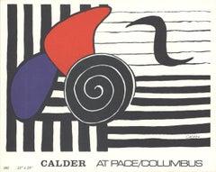 1982 Alexander Calder 'Deck of 100 cards Helisse' Surrealism Black & White