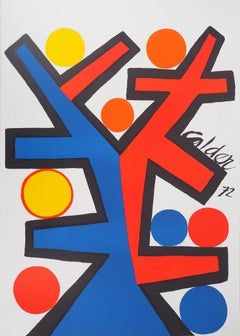 Abstract Composition (Assymetric) - Original Lithograph