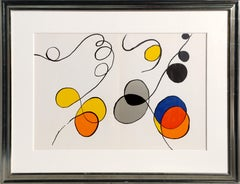 """Abstract IV from """"Derrier le Miroir"""" by Alexander Calder"""