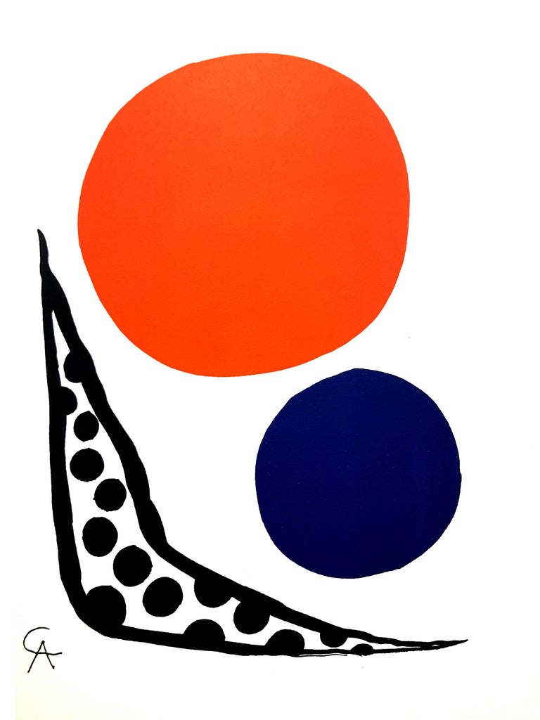 Alexander Calder - Composition - Original Lithograph