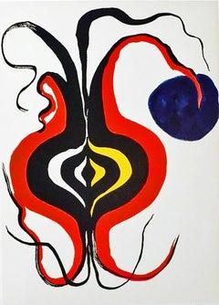 Alexander Calder 1960s lithograph Derrière le miroir (Calder prints)