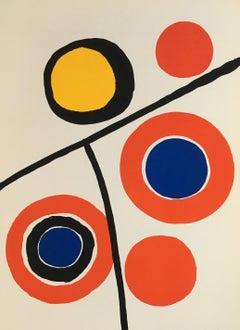 Alexander Calder 1970s lithograph Derrière le miroir (Calder prints)