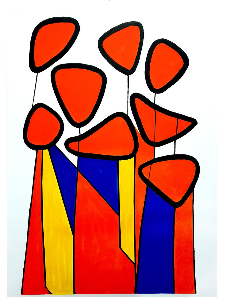 Alexander Calder - Composition - Original Lithograph  For Sale 3