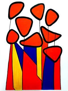 Alexander Calder - Composition - Original Lithograph