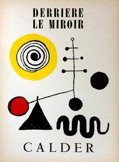 Alexander Calder Derriere Le Miroir c.1950 (Calder lithographs)