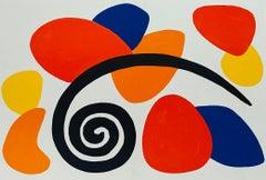 Alexander Calder Derrière le Miroir lithograph (1960s Calder prints)