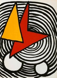 Alexander Calder Derrière le Miroir lithograph (1970s Calder prints)
