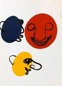 Alexander Calder lithograph Derrière le Miroir