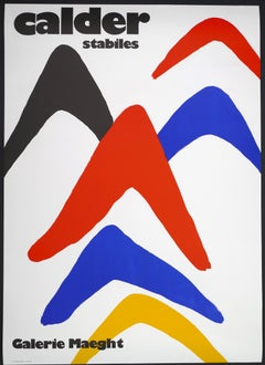 Alexander Calder Exhibition at Galerie Maeght - Poster - 1971