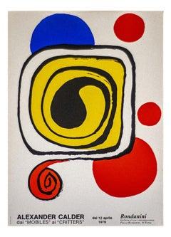 Alexander Calder Exhibition Poster - Original Lithographic Poster - 1976