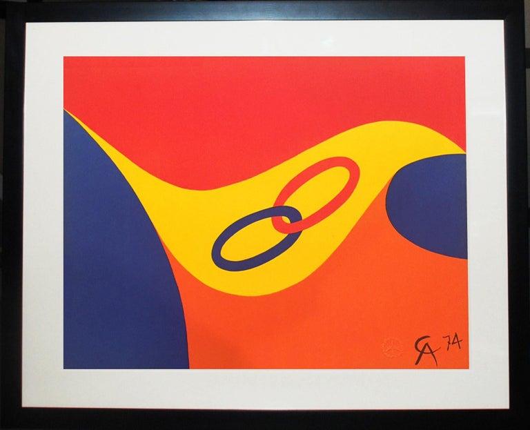 Alexander Calder Friendship - Print by Alexander Calder
