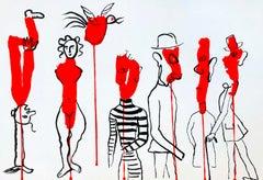 Alexander Calder Lithograph, Derrière le miroir 1966