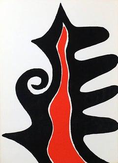 Alexander Calder Lithograph, Derriere Le Miroir (Calder prints)
