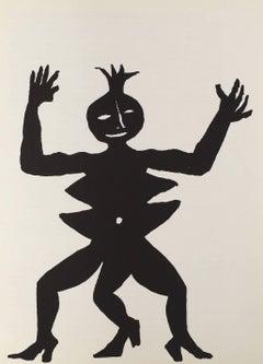 Alexander Calder Lithograph Derriere le miroir (Calder prints)