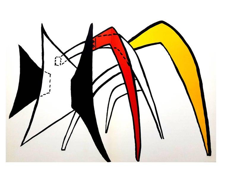 "Alexander Calder - Original Lithograph - from ""Derrière le miroir"" - Print by Alexander Calder"
