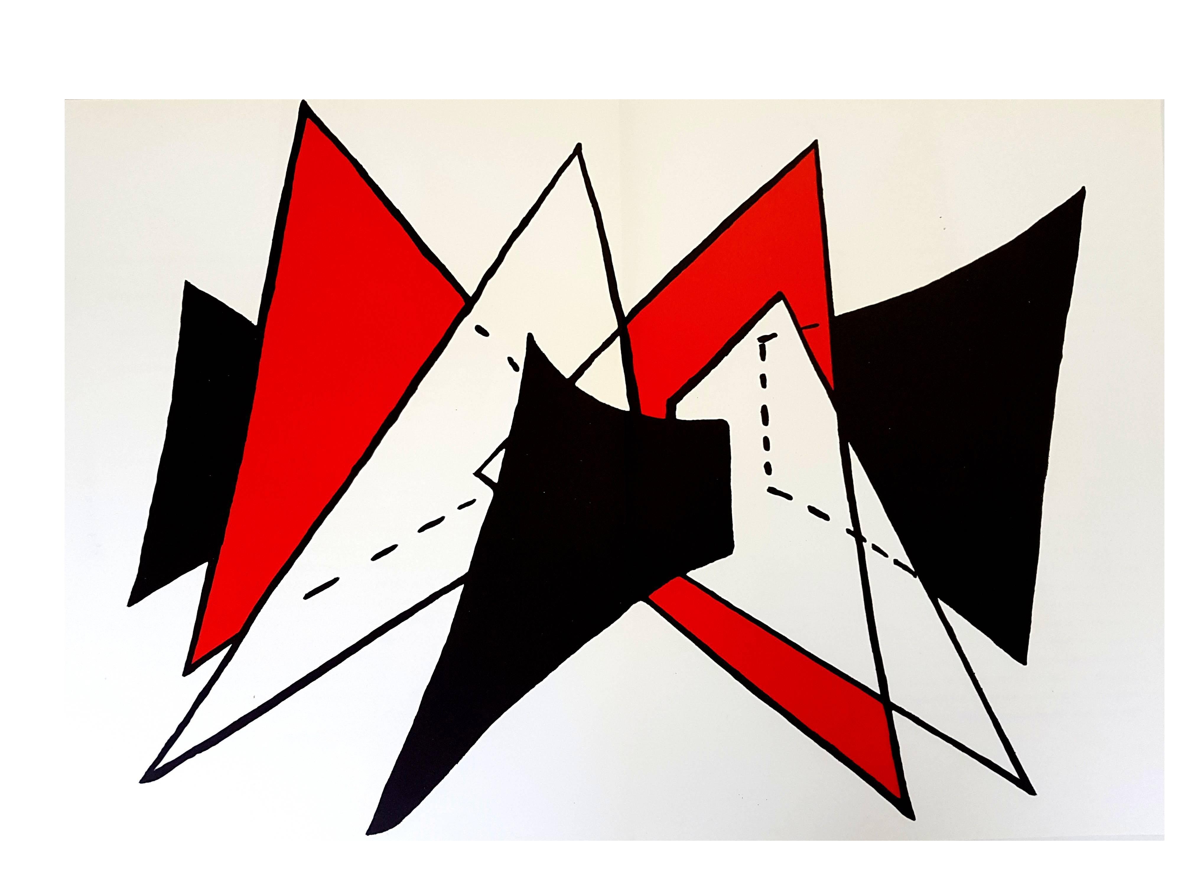 """Alexander Calder - Original Lithograph - from """"Derrière le miroir"""""""