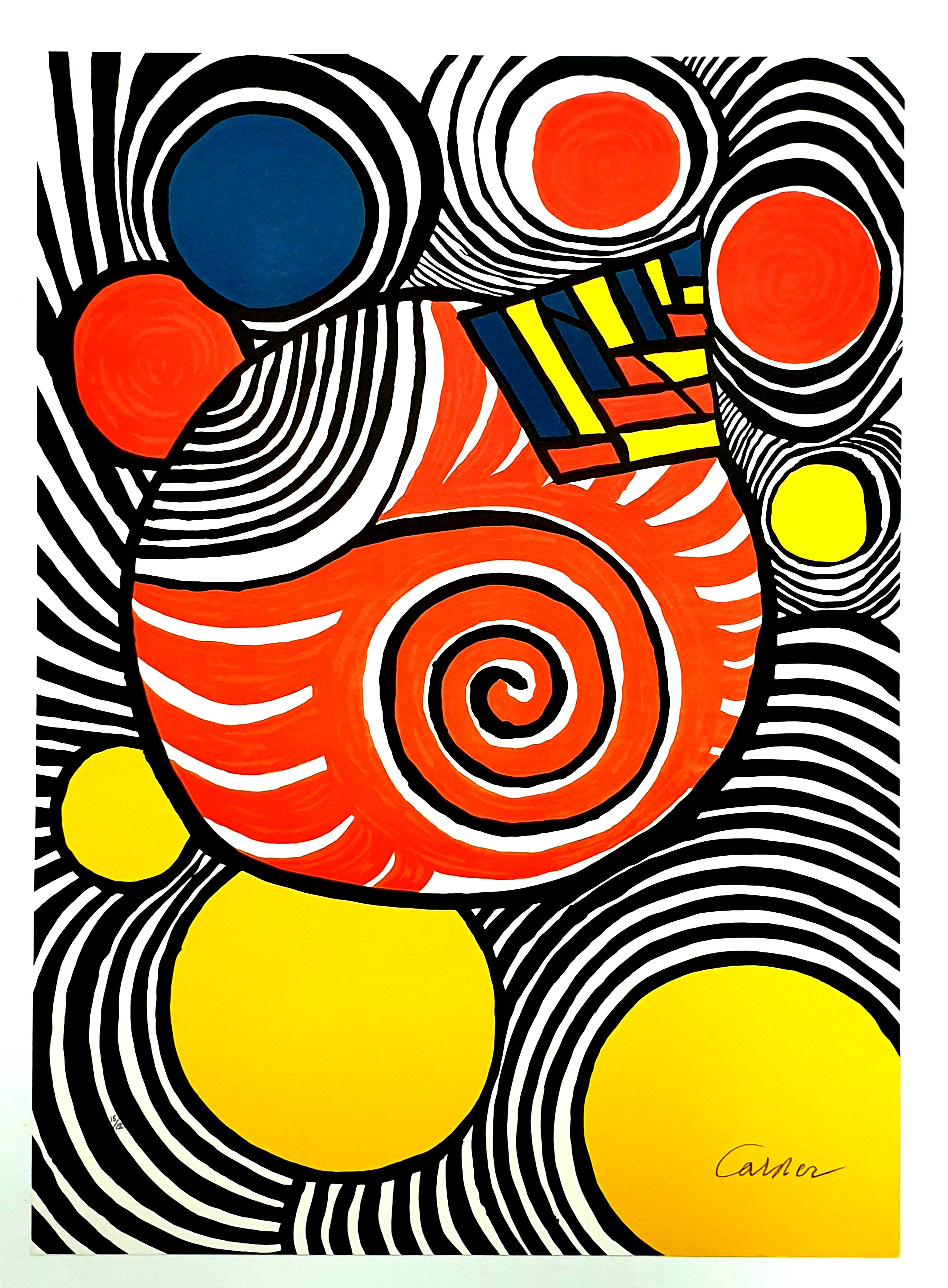 Alexander Calder - Clown - Original Handsigned Lithograph