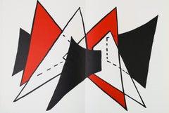 Alexander Calder Stabiles lithograph 1963 (Calder prints)