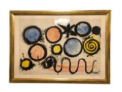 Alexander Calder, 'Untitled' Gouache, 1967