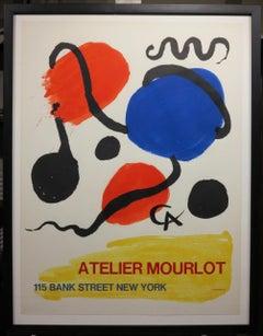 Atelier Mourlot 1967 lithograph poster