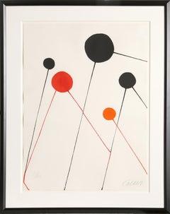 Balloons, Framed Lithograph by Alexander Calder